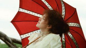 Still shot of Judy Davis as Sybylla Melvyn in 'My Brilliant Career'