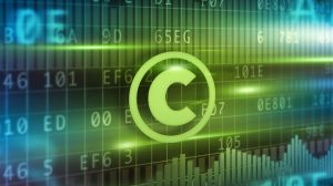 Copyright symbol in front of various numbers and graphs