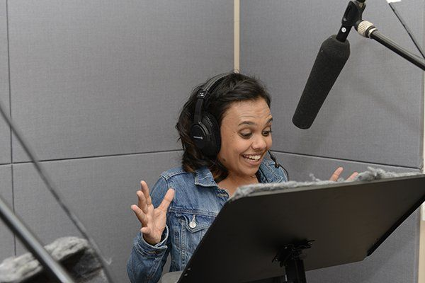 Little J & Big Cuz - Miranda Tapsell recording voice work